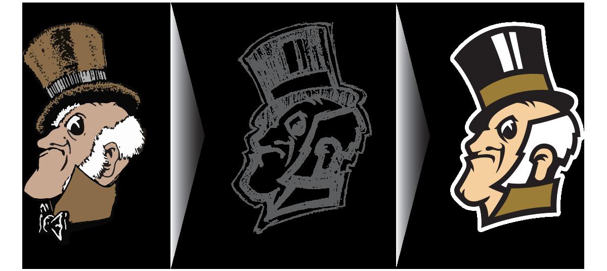 Deacon Head design progression